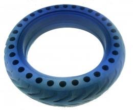 Bezdušová pneumatika pro eSkoter, modrá