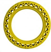 Bezdušová pneumatika pro Xiaomi Scooter, žlutá