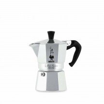 Bialetti Moka Express 3, stříbrná