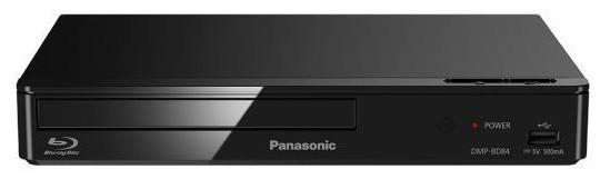Blu-ray přehrávač Panasonic DMP-BD84EG-K, černý