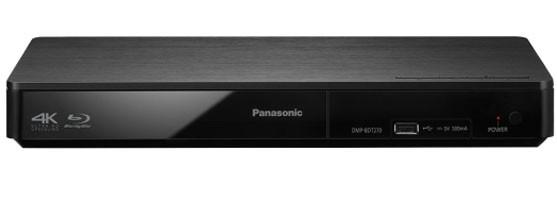 Blu-ray přehrávač Panasonic DMP-BDT270EG čierny