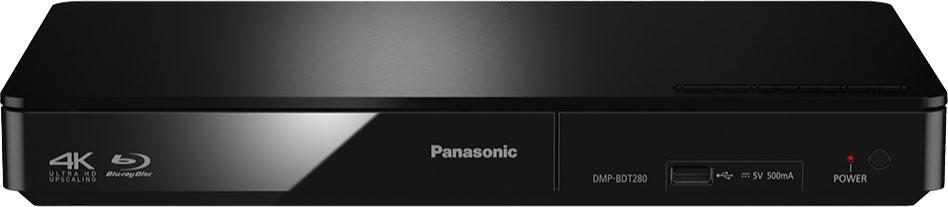 Blu-ray přehrávač Panasonic DMP-BDT280EG, černý