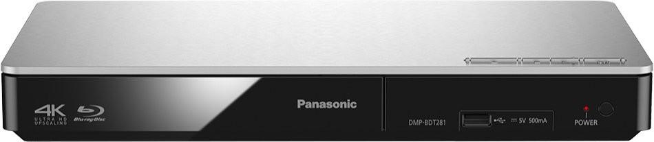 Blu-ray přehrávač Panasonic DMP-BDT281EG, stříbrný