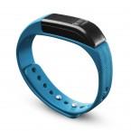 Bluetooth fitness náramek CellularLine EASYFIT, modro-černý OBAL