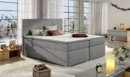 Bolero - Boxspring 160x200 cm, 2x matrace, dřevěné nohy