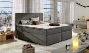 Bolero - Boxspring 180x200 cm, 2x matrace, dřevěné nohy