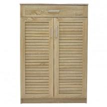 Botník Berri (2x dveře, 1x zásuvka, dub sonoma)