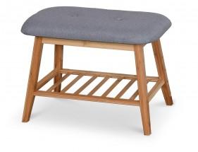 Botník Frontino mini (dřevo, šedá)