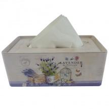 Box na kapesníky Lavender