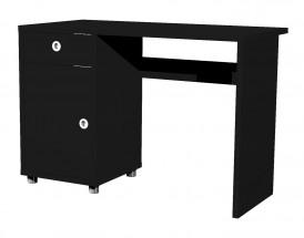 Box - stůl, 1x dveře, 1x šuplík (černá)