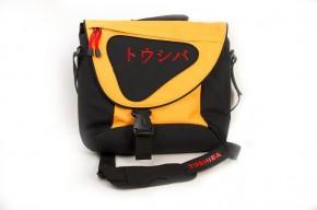 """Brašna na notebook Toshiba 15,6"""", černá/oranžová"""