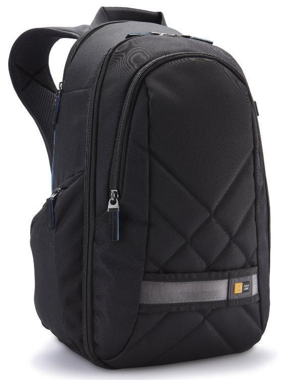 Brašny, batohy CASELOGIC CL-CPL108K Fotobatoh, vkládání shora (černý),polyester