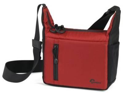 Brašny, batohy Lowepro StreamLine 100 (18,5 x 7 x 14,5 cm) - Red