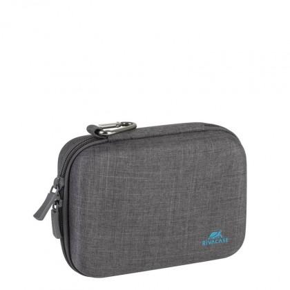 Brašny, batohy Tvrzené pouzdro pro akční kamery Riva Case 70x125x60mm, šedá