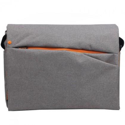 """Brašny CANYON stylová taška přes rameno pro notebook 15-16"""", šedá"""