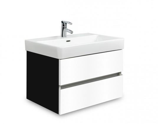 Brisbane - skříň s umyvadlem Laufen Pro S 60cm (černá/bílá)