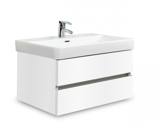 Brisbane - skříň s umyvadlem Laufen Pro S 70cm (bílá)