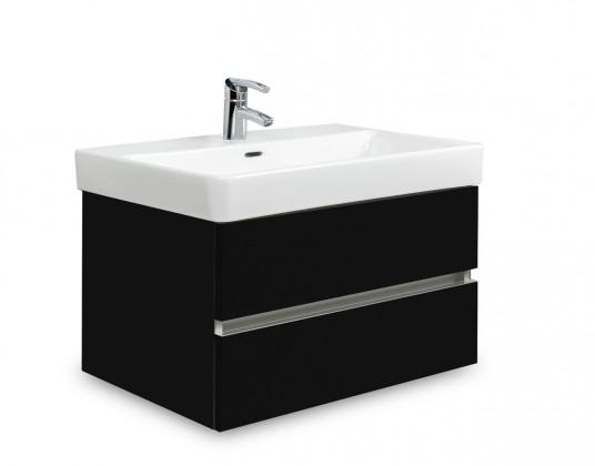 Brisbane - skříň s umyvadlem Laufen Pro S 70cm (černá)