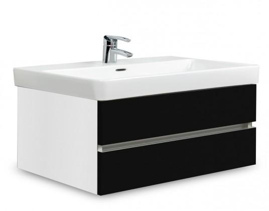 Brisbane - skříň s umyvadlem Laufen Pro S 85cm (bílá/černá)