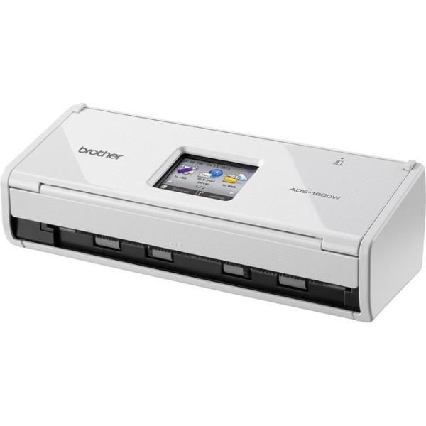 Brother ADS-1600W oboustranný skener dokumentů, až 36 str/min, 60