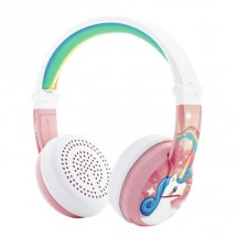 BuddyPhones Wave Unicorn růžová