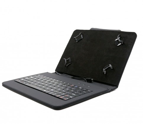 """C-TECH PROTECT pouzdro s klávesnicí 7""""-7,85"""" NUTKC-01, černé"""