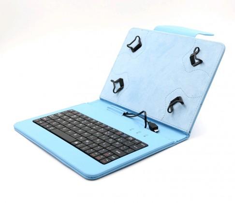 """C-TECH PROTECT pouzdro s klávesnicí 7""""-7,85"""" NUTKC-01, modré"""