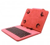 """C-TECH PROTECT pouzdro s klávesnicí 7""""-7,85"""" NUTKC-01, červené"""