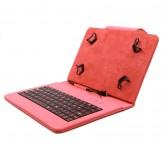 """C-TECH PROTECT pouzdro s klávesnicí 8"""" NUTKC-02, červené"""
