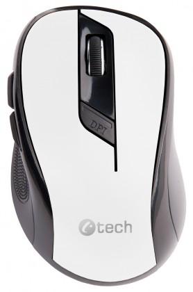 C-Tech WLM-02, černo-bílá WLM-02W