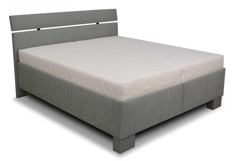 Čalouněná Čalouněná postel Antares 160x200, vč. matrace, poloh. roštu a úp