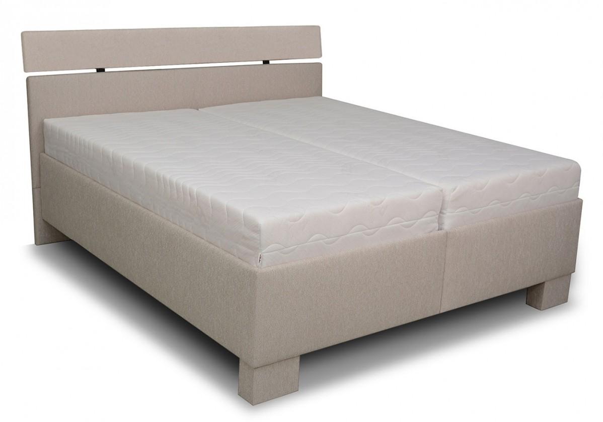 Čalouněná Čalouněná postel Antares 180x200, vč. matrace, poloh. roštu a úp