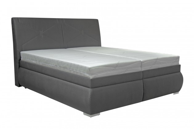 Čalouněná Čalouněná postel Arte 180x200, vč. matrace, poloh. roštu a úp