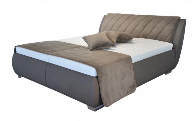 Čalouněná Čalouněná postel Grosseto 180x200 vč. matrace, poloh. roštu a úp