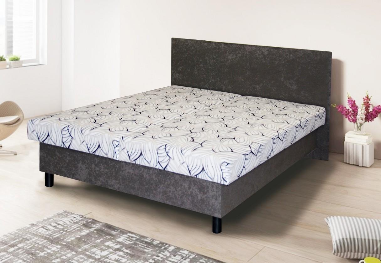 Čalouněná Čalouněná postel Jana - 160x200 (laola 3/48)