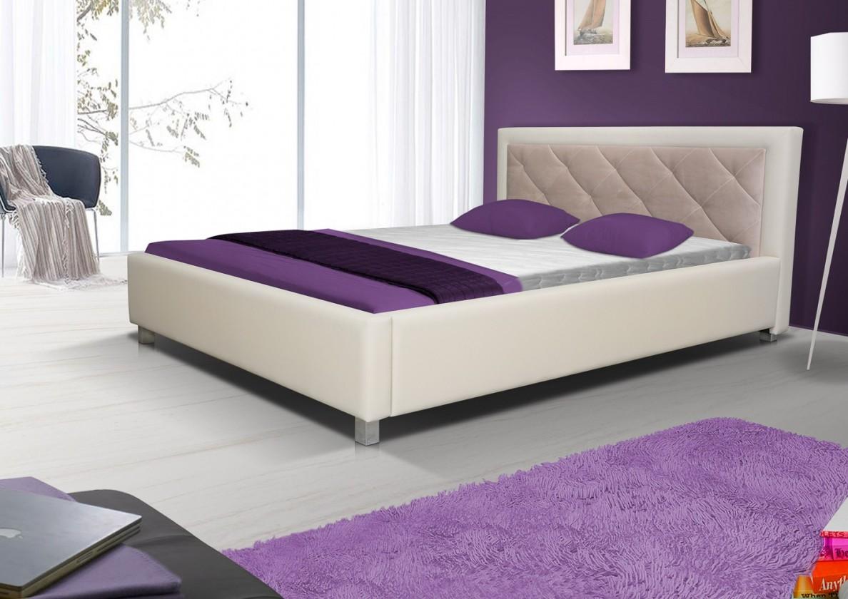 Čalouněná Čalouněná postel Sao Paulo 160x200, s roštem a úp, bez matrace