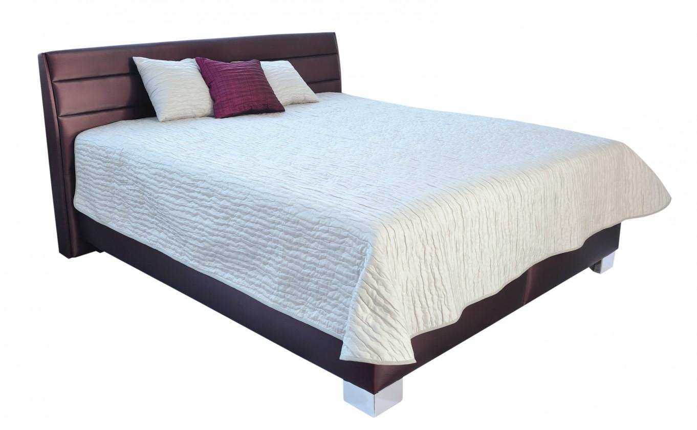 Čalouněná Čalouněná postel Vernon 180x200 vč. pol. roštu, úp, bez matrace