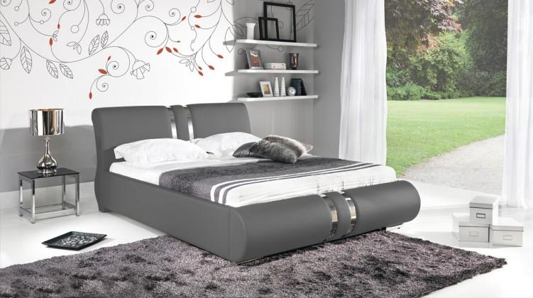 Čalouněná Combi - Rám postele 200x160, s roštem a úložným prostorem