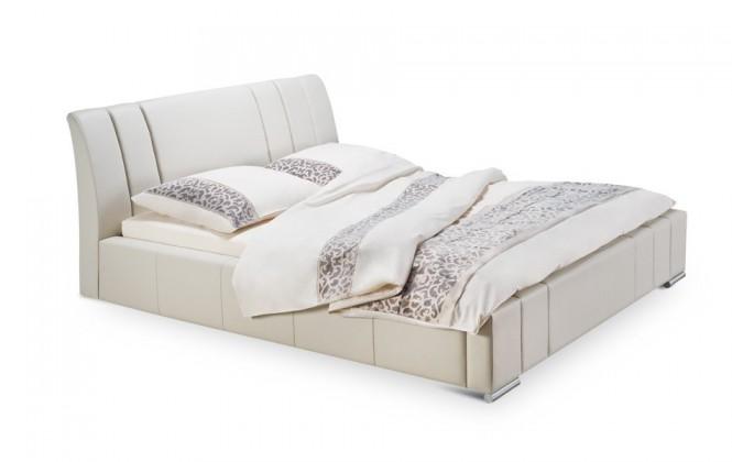 Čalouněná Diano - rám postele, rošt, 2x matrace (200x160)