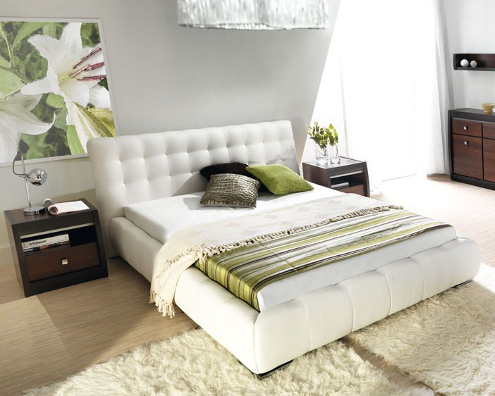Čalouněná Forrest - Rám postele 200x140, s roštem a úložným prostorem