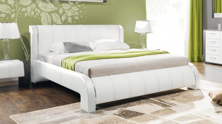 Čalouněná Naomi - Rám postele 200x160, s roštem