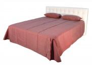 Čalouněná postel Anita 180x200, bílá, vč. matrace a úp