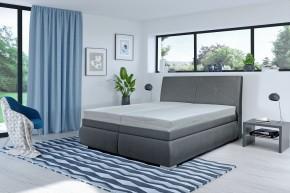 Čalouněná postel Arte 180x200, vč. matrace, roštu - II. jakost