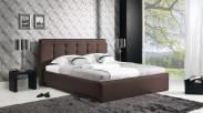 Čalouněná postel Avalon 180x200 cm, eko kůže, s úložným prostorem