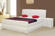 Čalouněná postel Bassit 2, vč. roštu a úp, bez matrace