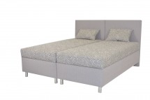 Čalouněná postel Colorado 180x200, růžová, vč. matrace a úp