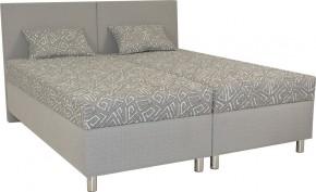 Čalouněná postel Colorado 180x200, šedá, vč. matrace a úp + dárek 2 polštáře