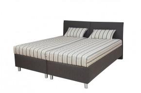 Čalouněná postel Colorado 180x200, šedá, vč. matrace, roštu a úp + dárek 2 polštáře