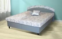 Čalouněná postel Corveta 180x200, vč. matrace a úp - II. jakost
