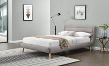 Čalouněná postel Elanda 140x200, vč. roštu, bez matrace a úp